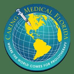Caring Medical Globe Logo