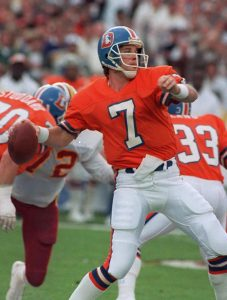 Football Hall of Famer John Elway played his entire career without an ACL. Like Namath, Elways suffered his injury at a time when ACL injuries were career-ending