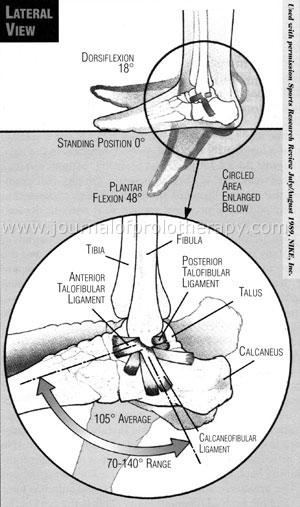 Chronic ankle sprain and instability treatment