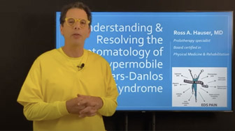 EDS webinar: Resolving symptoms of hypermobile Ehlers-Danlos syndrome - Ross Hauser, MD