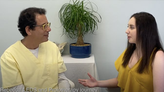 Rebecca's Ehlers-Danlos syndrome (EDS) and Prolotherapy journey - Interview with Ross Hauser, MD