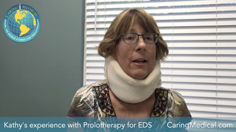 Experience with Prolotherapy for Ehlers-Danlos Syndrome - Kathys story