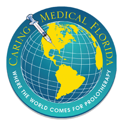 Caring Medical Globe Logo