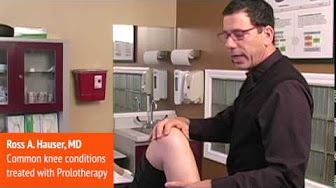 Common Knee Conditions treated with Prolotherapy