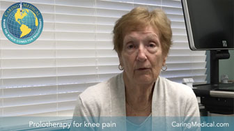 Avoiding knee surgery with H3 Prolotherapy - a patient's story