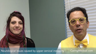 Neurological issues caused by upper cervical instability and treated with H3 Prolotherapy