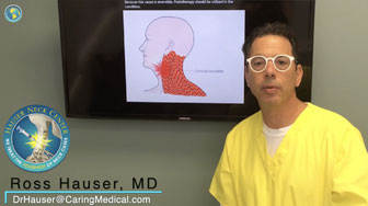 Spasmodic torticollis treatment with prolotherapy - Ross Hauser, MD
