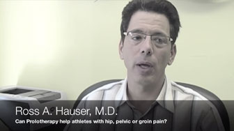 Prolotherapy for Athletes with Hip, Pelvic or Groin Pain