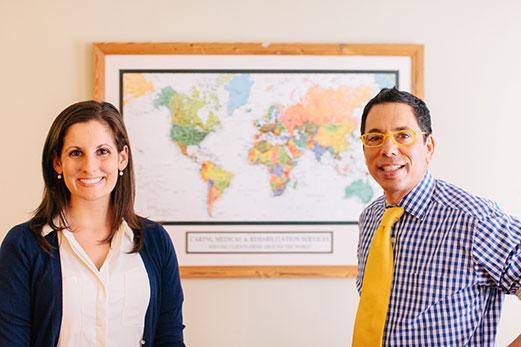 Danielle Steilen-Matias & Ross Hauser, MD