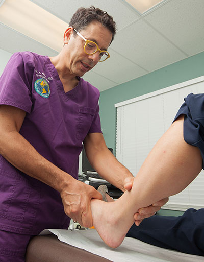 Prolotherapy Ankle Examination