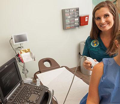 Shoulder Ultrasound Examination