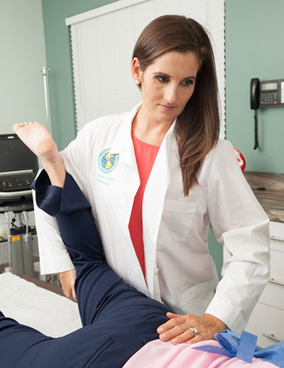 Low Back Pain Prolotherapy Examination