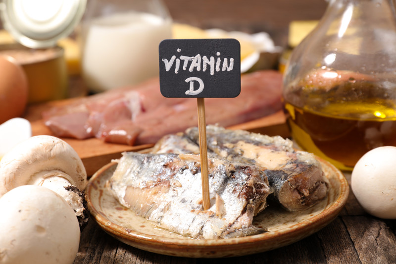 Vitamin D foods and knee osteoarthritis