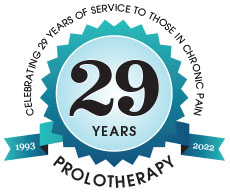 Celebrating 25 years of service to those in chronic pain