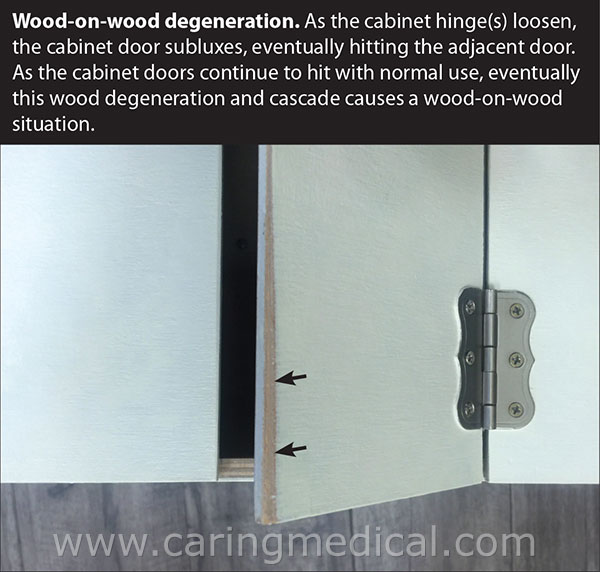 wood-on-wood degeneration