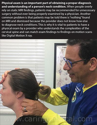 cervical physical- exam