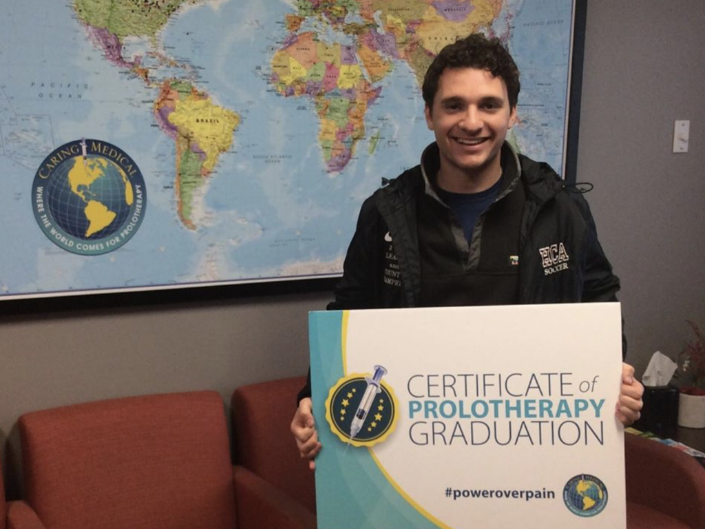 William could not be happier with the results of the PRP Prolotherapy treatment.